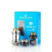 Triple RTA by Vandy Vape and twisted 420